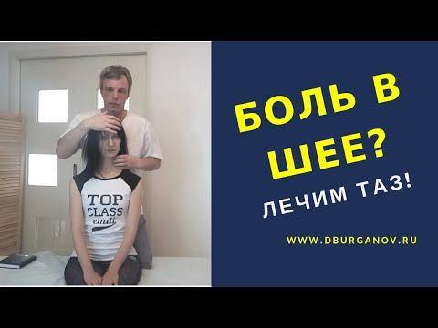 Боль в шее? Лечим таз, височно-нижнечелюстной сустав и мышцы шеи