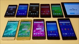 Sony Xperia X Performance Overheating Test Vs XA Vs X Vs Z5 Premium Vs Z5 Vs Z5 Compact Vs M5 Vs Z3+