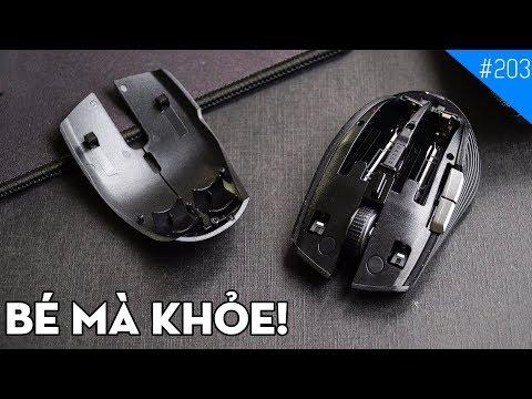Trên tay chuột chơi game không dây Razer Atheris: Quái vật tí hon!!!