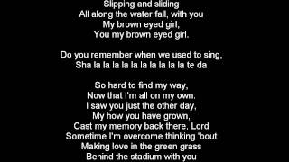 Gambar cover Van Morrison - Brown Eyed Girl lyrics - Radio Edit