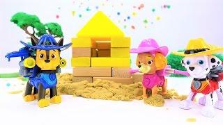 Детское видео и игрушки ЩЕНЯЧИЙ ПАТРУЛЬ. Развивающее видео для детей. Сюрприз для Чейза!