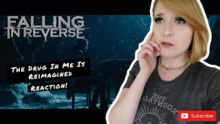 """FALLING IN REVERSE - """"The Drug In Me Is Reimagined""""   REACTION   THIS WAS INTENSE!!!"""