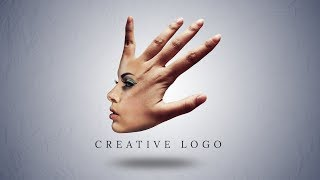 Photoshop Tutorial | Creative Logo Design From Face