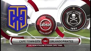 Absa Premiership 2018/19  | Cape Town City Vs Orlando Pirates