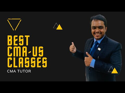BEST CMA-US CLASSES ONLINE | CMA NASER GHAZANFER
