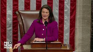 WATCH: House votes to impeach Trump   Trump impeachment