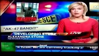 KETV Channel 7 News Report on AK-47 Bandit Striking First Nebraska Bank in Nebraska City