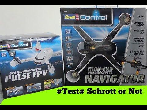 Revell Drohnen / Puls und Navigator TEST/ deutsch