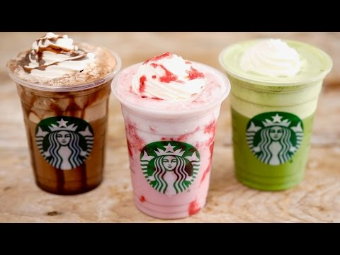 Video Homemade STARBUCKS FRAPPUCCINOS - Gemma's Bigger Bolder Baking Ep 156