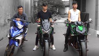 PHD | Thử Thách 24 Giờ Sống Trên Xe Máy | 24 Hour Challenge Living On The Moto
