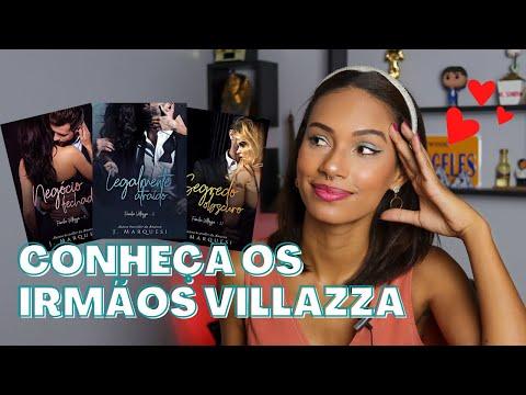 Conhecendo séries: TRILOGIA IRMÃOS VILLAZZA   Miriã Mikaely