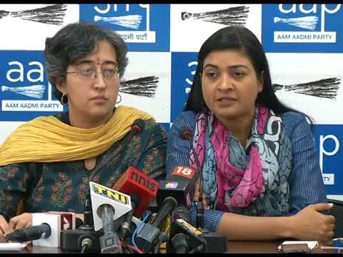 AAP Senior Leaders Brief on Delhi Police Brutalities on Students and Journalists
