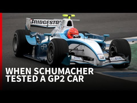 Why Michael Schumacher once tested a GP2 car