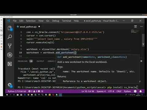 Download How Connect To An Oracle Database From Python Video 3GP Mp4