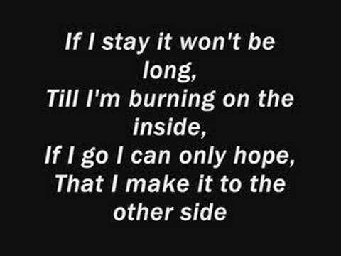 Three Days Grace - Get Out Alive lyrics