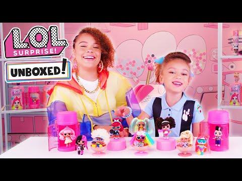 Игровой набор L.O.L. S5 W2 Hairgoals Модное Перевоплощение (в ассорт) в категории Игрушки