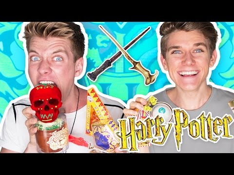 TRYING HARRY POTTER CANDY + Bean Boozled Challenge 🔮   Collins Key