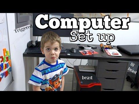 LATE NIGHT COMPUTER SET UP