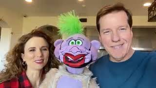 Peanut attacks Jack! Plus my NEW Comedy Cntrl special & Audrey's new holiday cookbook!   Jeff Dunham