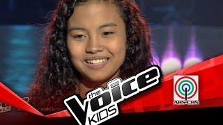 "The Voice Kids Philippines Blind Audition ""Tadhana"" by Shanne"