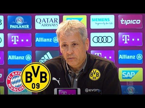 """""""Es war eine Lehrstunde""""   PK mit Lucien Favre   FC Bayern - BVB 5:0"""