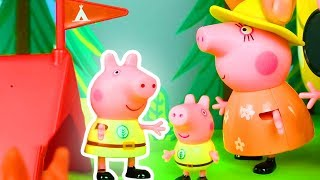 Peppa Pig  Official Channel |  Peppa Pig Stop Motion: The Camping Holiday