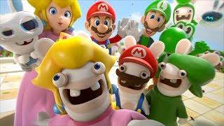 Mario + Rabbids Kingdom Battle - All Cutscenes Full Movie HD - dooclip.me
