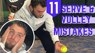 11 serve och volley misstag