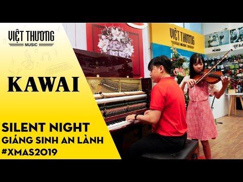 Silent Night // Đàn Piano Kawai K300 duet Violon
