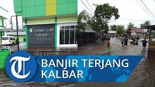 Banjir Terjang Sejumlah Kecamatan di Sambas, Puskesmas Paloh Terendam
