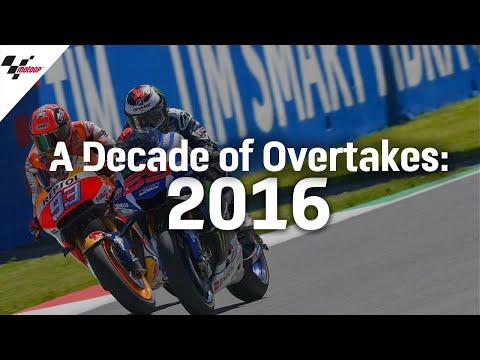 MotoGP 2016年に行われたMotoGP オーバーテイクを集めたハイライト動画