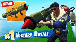 *NEW* GUIDED ROCKET 2.0 + Jetpack Mode GAMEPLAY In Fortnite Battle Royale!