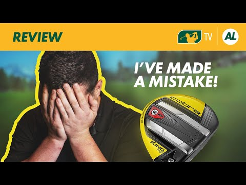 I'VE MADE A MISTAKE! | COBRA F9 FAIRWAY WOOD