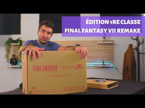 J'ai reçu l'édition 1re classe de Final Fantasy VII Remake