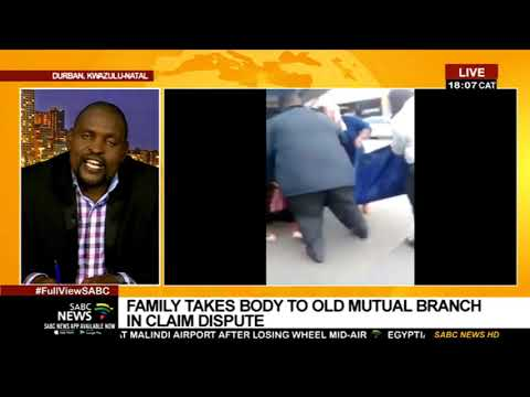 Mtshali family Vs Old Mutual: Mlondi Radebe