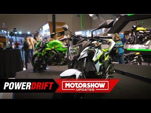 2019 Kawasaki Z125 : Most affordable Kawasaki : Intermot 2018 : PowerDrift