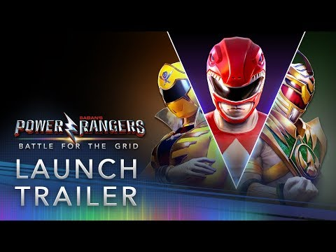 Power Rangers: Battle for the Grid - Official Launch Trailer thumbnail