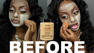 POWDER BEFORE FOUNDATION | STOP Oily Skin? Does It Work? Or Nah!