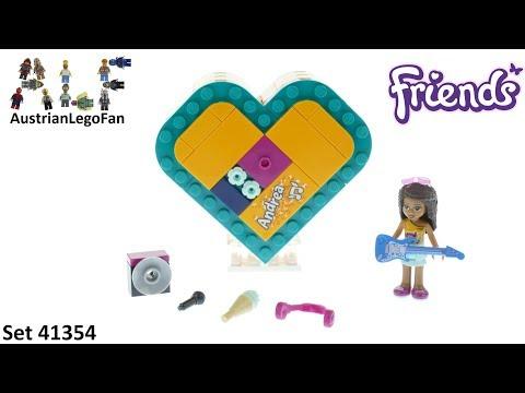 Vidéo LEGO Friends 41354 : La boîte cœur d'Andréa