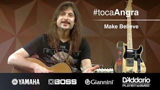 #TocaAngra | Make Believe - Angra (aula de violão)