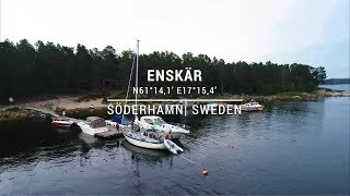 Safe approach to Enskär port in Söderhamn, Sweden