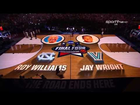 2016 NCAA Championship Game - Villanova vs UNC