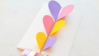 How to Make - Greeting Card Valentine