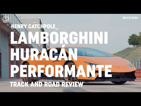 REVIEW: Lamborghini Huracán Performante driven on track and on road