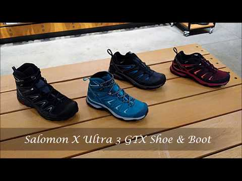 X Ultra 3 GTX Hiking Shoe & Boot Information