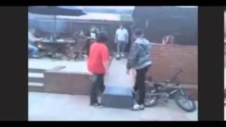 Приколы с пьяными людьми  Лучшие видео смешные приколы за 2012