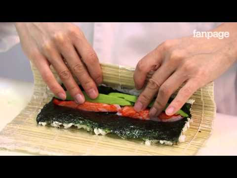California Rolls, impara a preparare i deliziosi rotolini di sushi