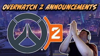 Flats and Emongg react to the Overwatch 2 announcements at BlizzCon