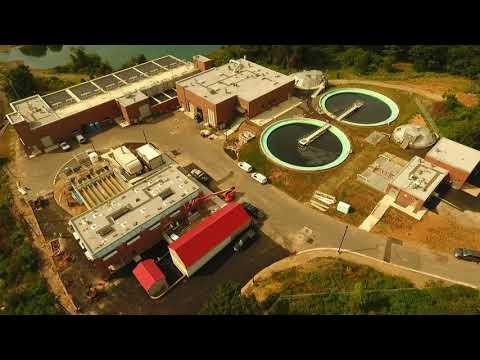 Peirce Island WWTF Public Construction September,  2020