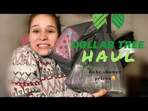 DOLLAR TREE HAUL•PRIZES FOR BABYSHOWER GAMES!